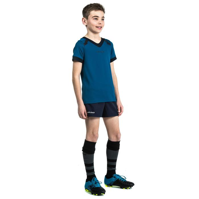 Camiseta Rugby Offload 100 niños azul