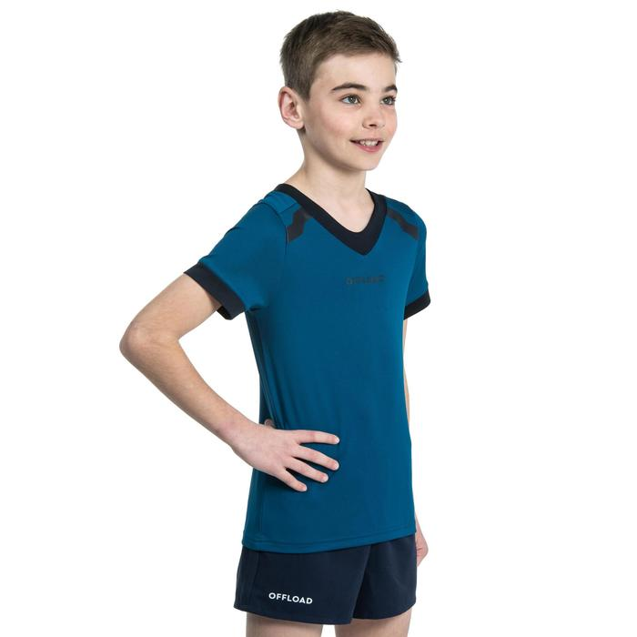 Kids' Rugby Shirt R100 - Blue