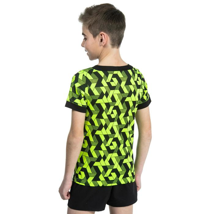 Rugbytrikot R100 Kinder gelb/schwarz