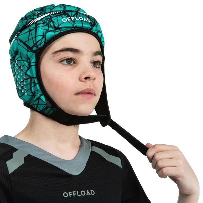Scrumcap 500 kinderen groen/zwart