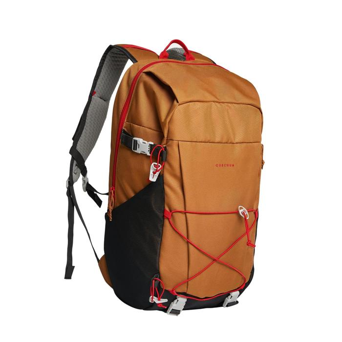 Country Walking Backpack 30L - NH100 - Nut-brown