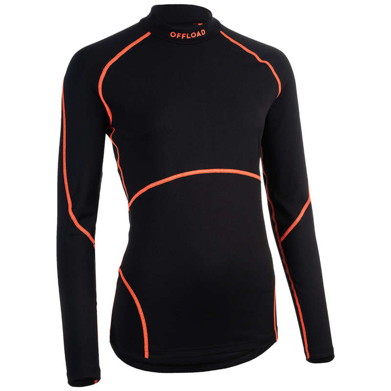 RUGBY WOMAN Rugby - Women's Base Layer R500 OFFLOAD - Rugby Clothing