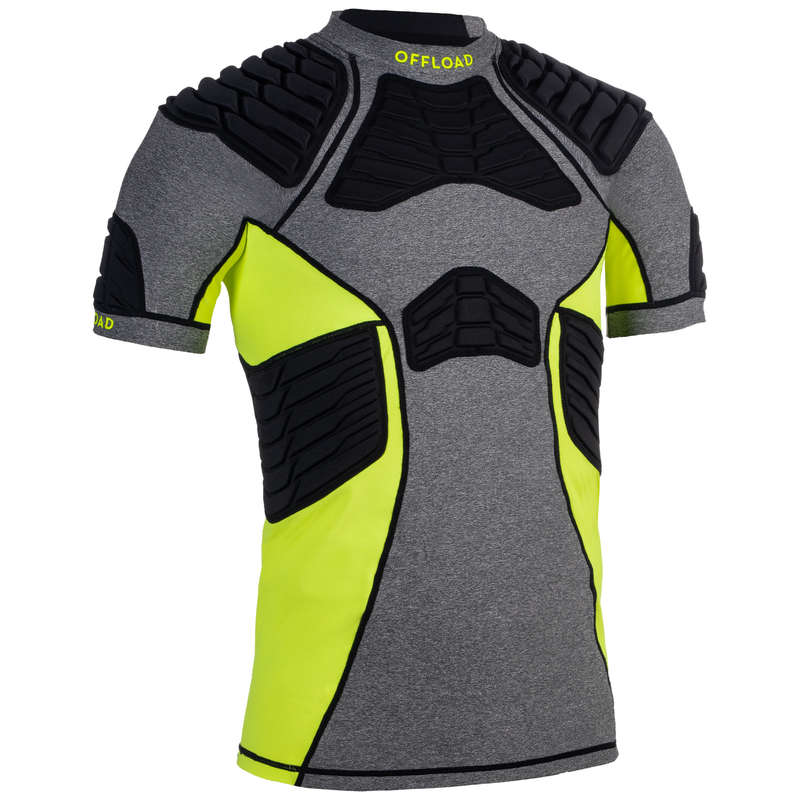 PADS RUGBY Rugby - 900 Shoulder Pads - Grey OFFLOAD - Rugby