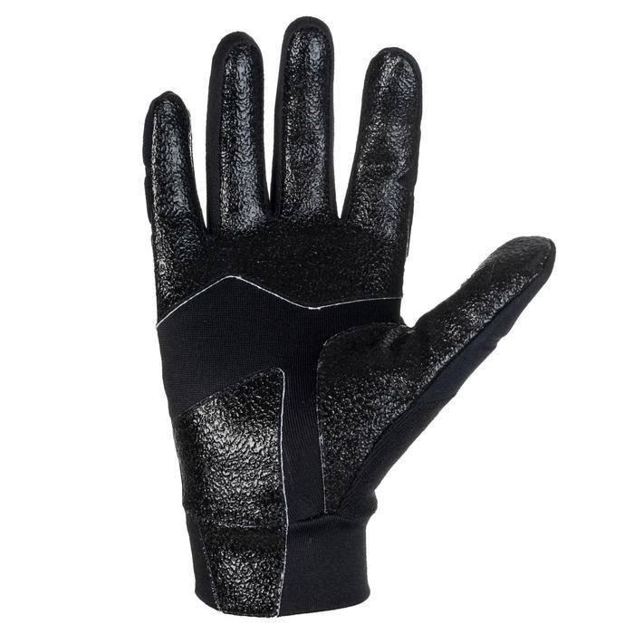 Winterhandschoenen voor rugby kinderen 500 zwart