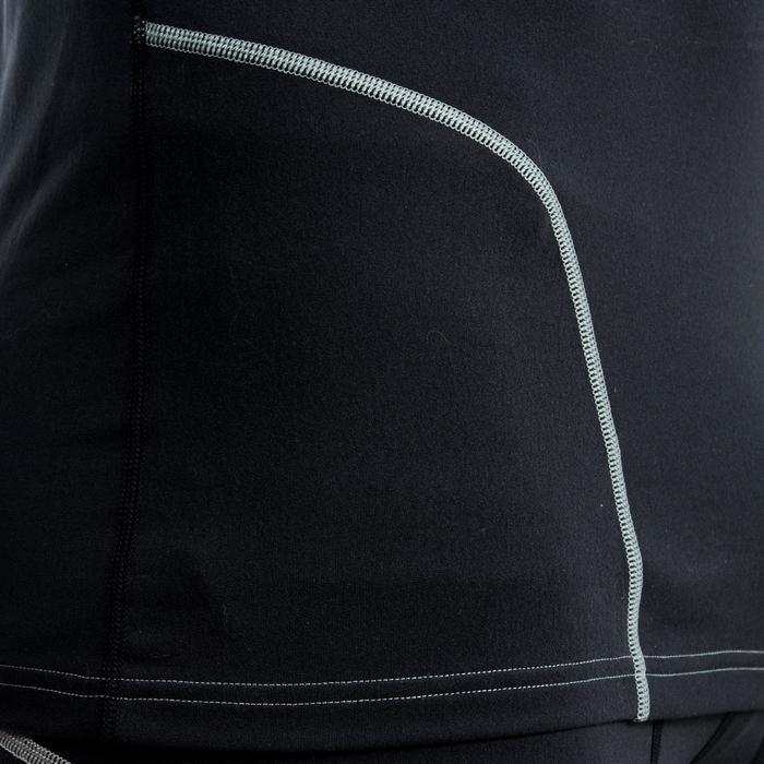 Camiseta Térmica Rugby Offload R500 manga larga hombre negro
