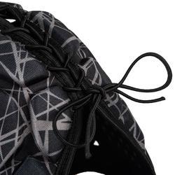 Kopfschutz Rugby R500 Kinder schwarz/grau