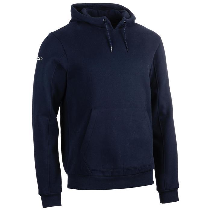 Rugby-Hoodie Club R500 Erwachsene blau