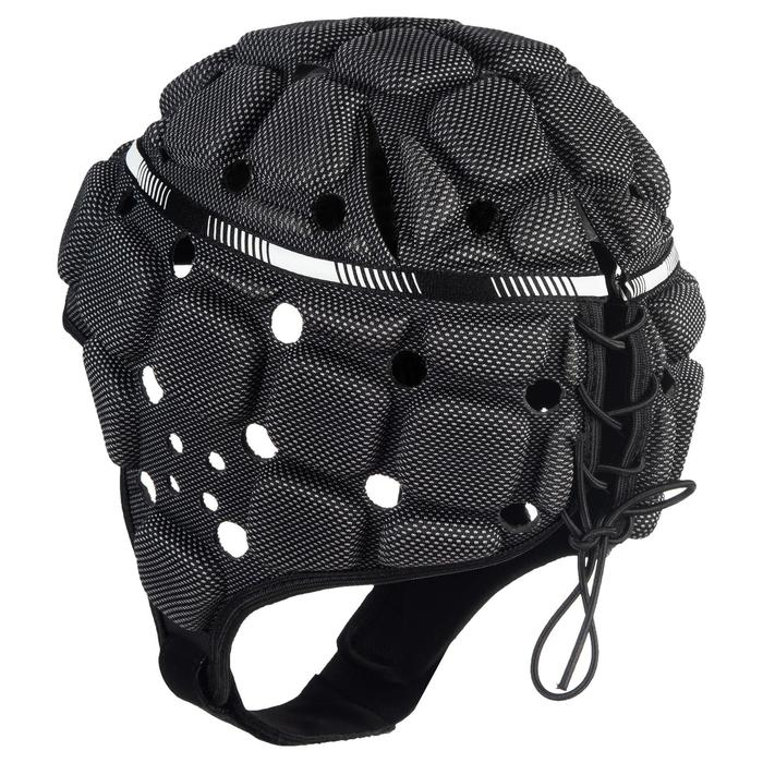 Casco rugby adulto R900 negro