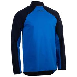 Sweat-shirt entraînement de rugby R500 adulte bleu