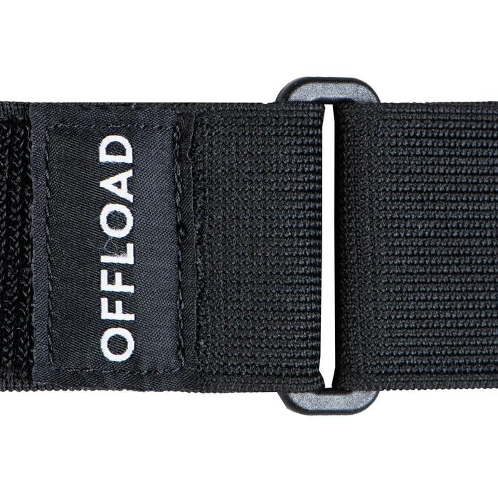Rugby Flag Belt Set R500 blau/rot