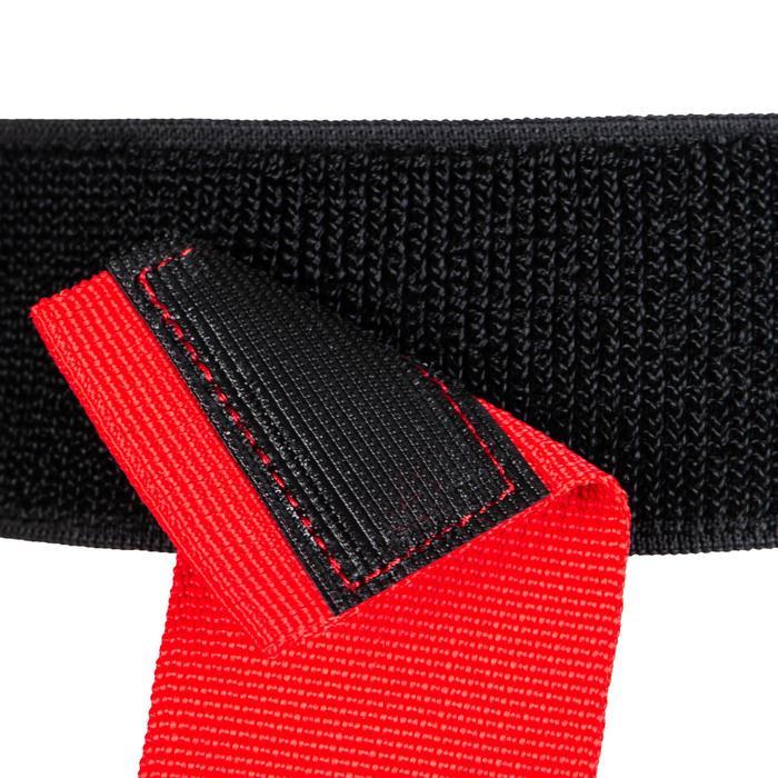 Kit ceintures flag rugby R500 bleu / rouge