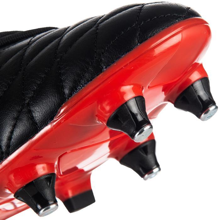 Hybride rugbyshirt Agility R900 SG zwart/rood