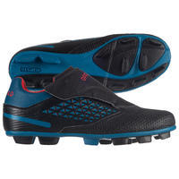 Kids' Moulded Rugby Boots Skill R100 FG - Blue