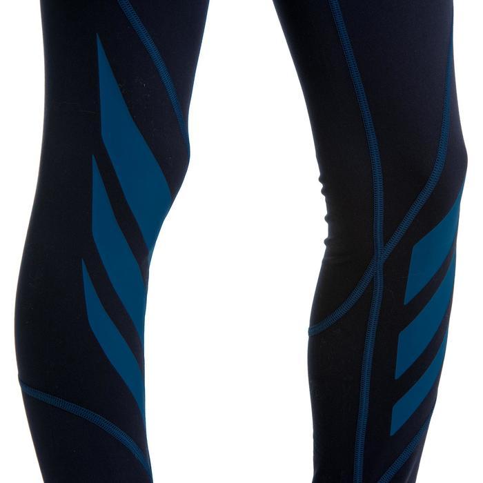 Thermobroek voor rugby kinderen R500 blauw
