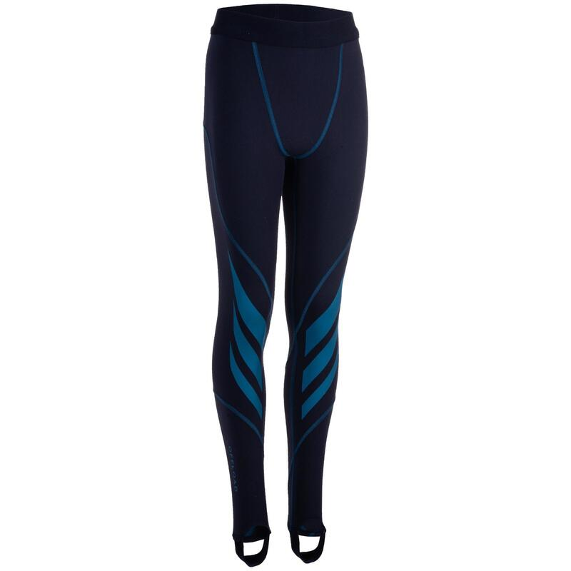 Kids' Rugby Tights R500 - Blue