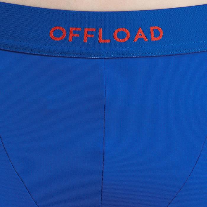 Beschermende ondershort R500 voor kinderen rugby blauw