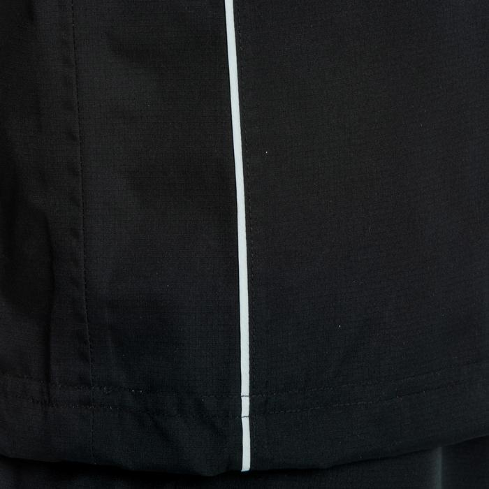Coupe vent imperméable Smocktop pluie rugby R500 junior noir