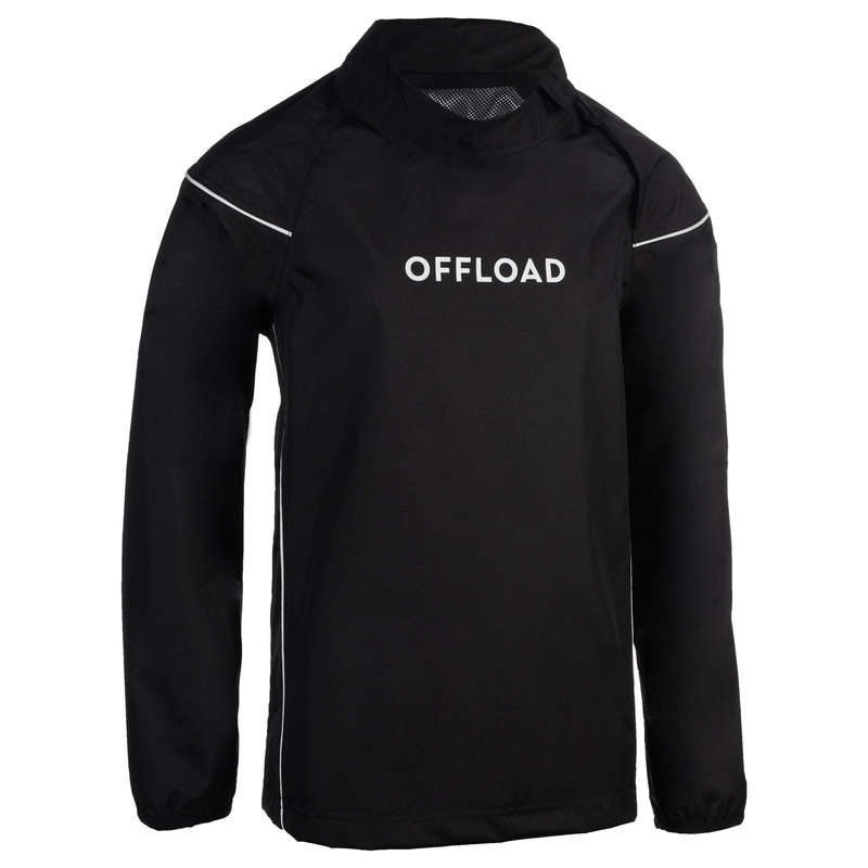 RUGBY APPAREL RAINY WEATHER JUNIOR - Junior Rain Smock Top R500 OFFLOAD