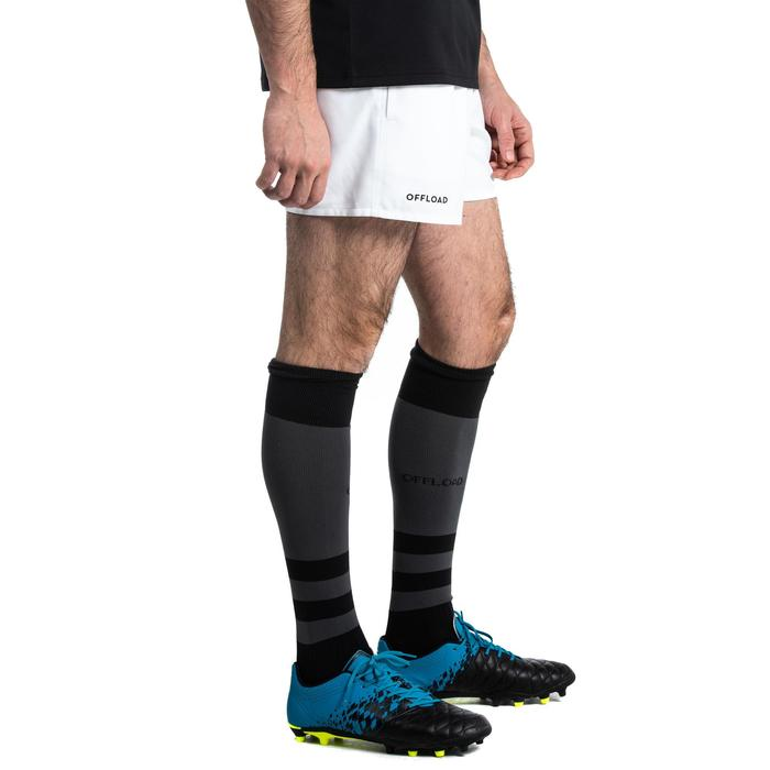 SHORT CLUB RUGBY SANS POCHE R100 adulte blanc