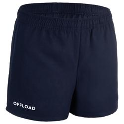 R100 Junior Rugby Shorts - Blue