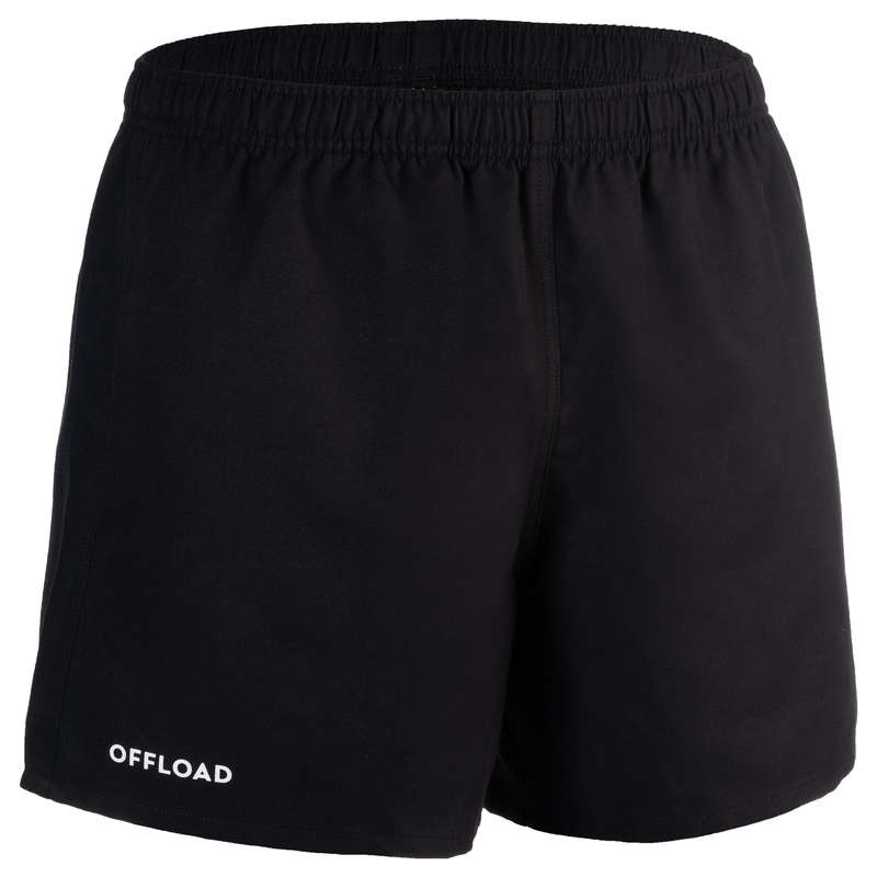 APPAREL RUGBY MEN Rugby - full h 100  rugby shorts - black OFFLOAD - Rugby Clothing