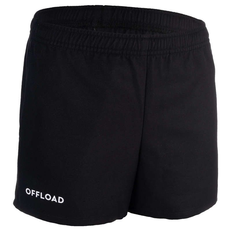 HABILLEMENT JUNIOR Populärt - Shorts R100 junior svart OFFLOAD - Shorts