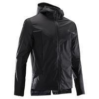 RUN RAIN BREATH men's running windproof and rainproof jacket black