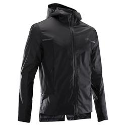 男款跑步防風防雨外套RUN RAIN BREATH黑色