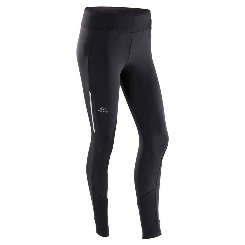 WOMAN JOGGING COLD PROTECTION CLOTHES Clothing - RUN WARM TIGHTS KALENJI - Bottoms