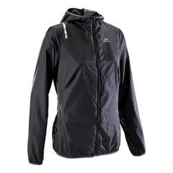 Women's Jogging Windproof Jacket Run Wind - Black