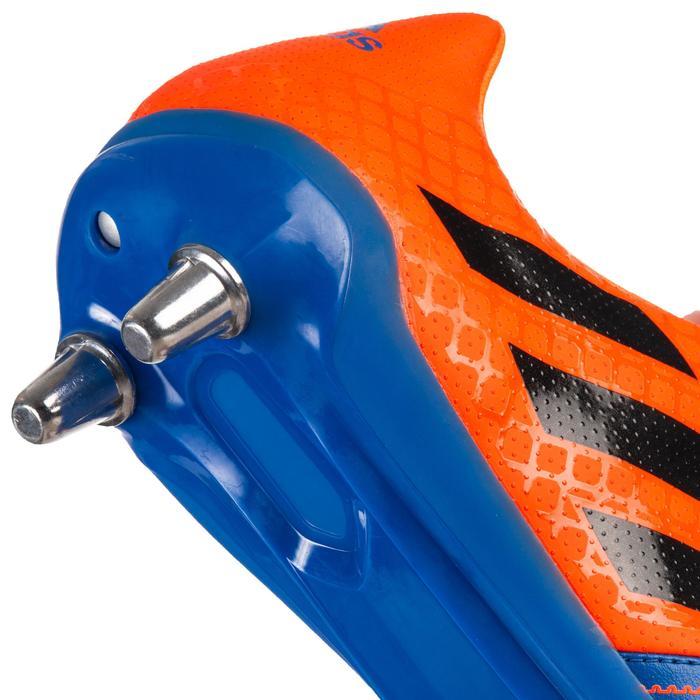 Rugbyschuhe Kakari SG 8 Stollen feuchte Böden blau/orange