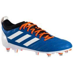 Chaussure de rugby Hybride Malice Elite Bleu orange