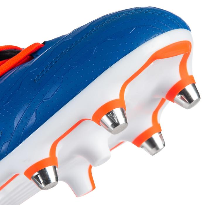 Chaussure de rugby Hybride Malice Elite Bleu orange