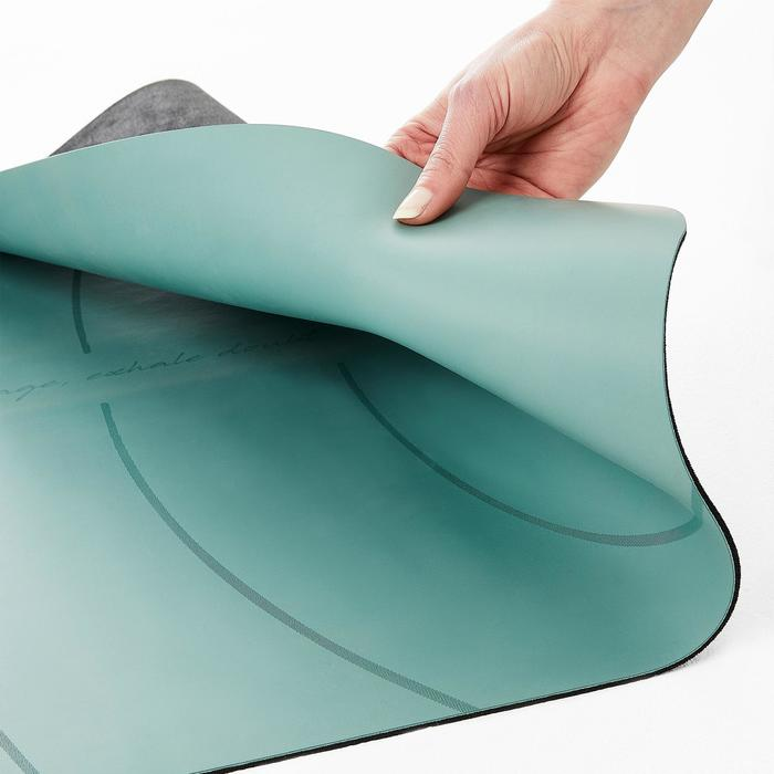 Yogamatte für dynamisches Yoga Grip + 3mm grün