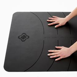 Yogamatte für dynamisches Yoga Grip + 3mm grau