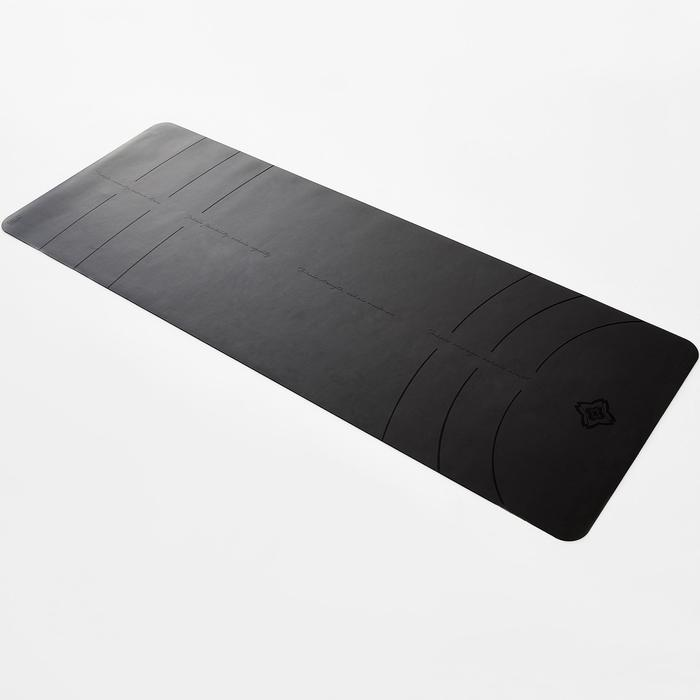 Dynamic Yoga Mat Grip + 3mm - Grey