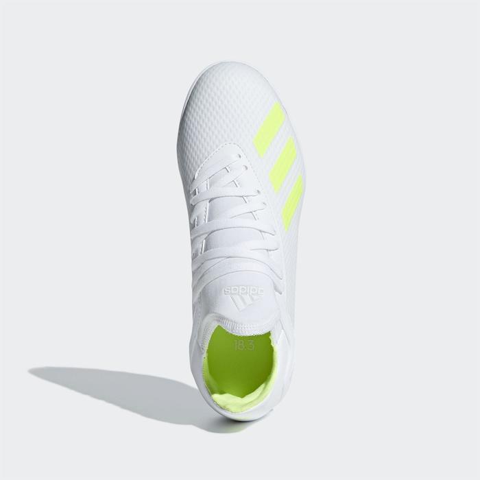 Voetbalschoenen kind X 18.3 TF wit