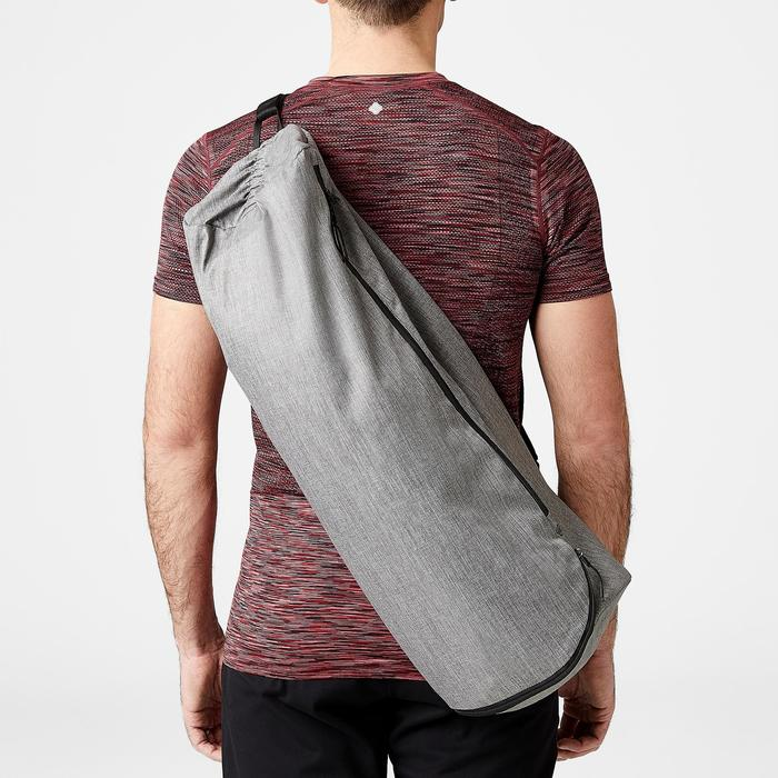城市瑜珈墊袋 - 雜灰色