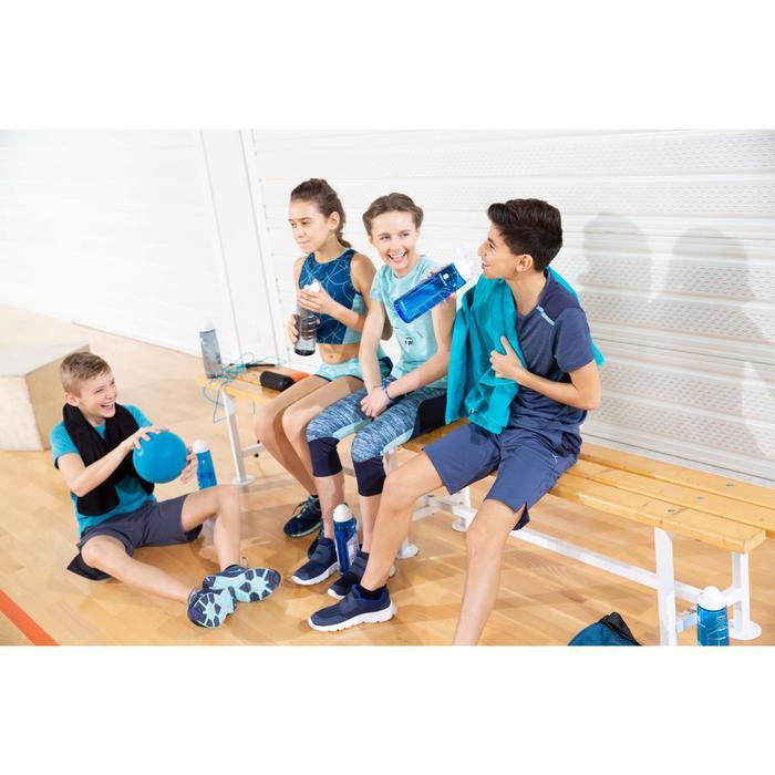 Shorts kurz atmungsaktiv W900 Gym Kinder blau