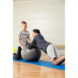 Trainingshose weit warm 100 Gym Kinder schwarz