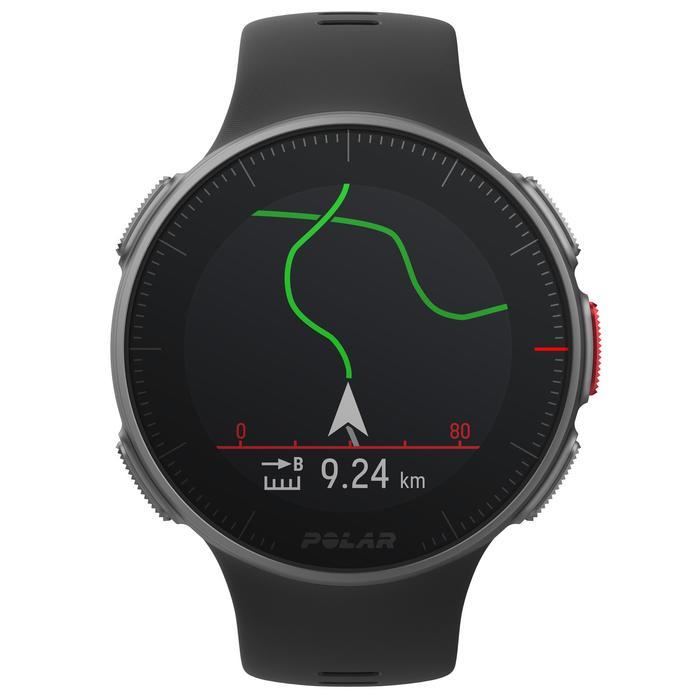 RELOJ PULSÓMETRO GPS MULTIDEPORTE VANTAGE V Negro