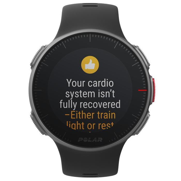 Gps-horloge hartslag multisport Vantage V zwart