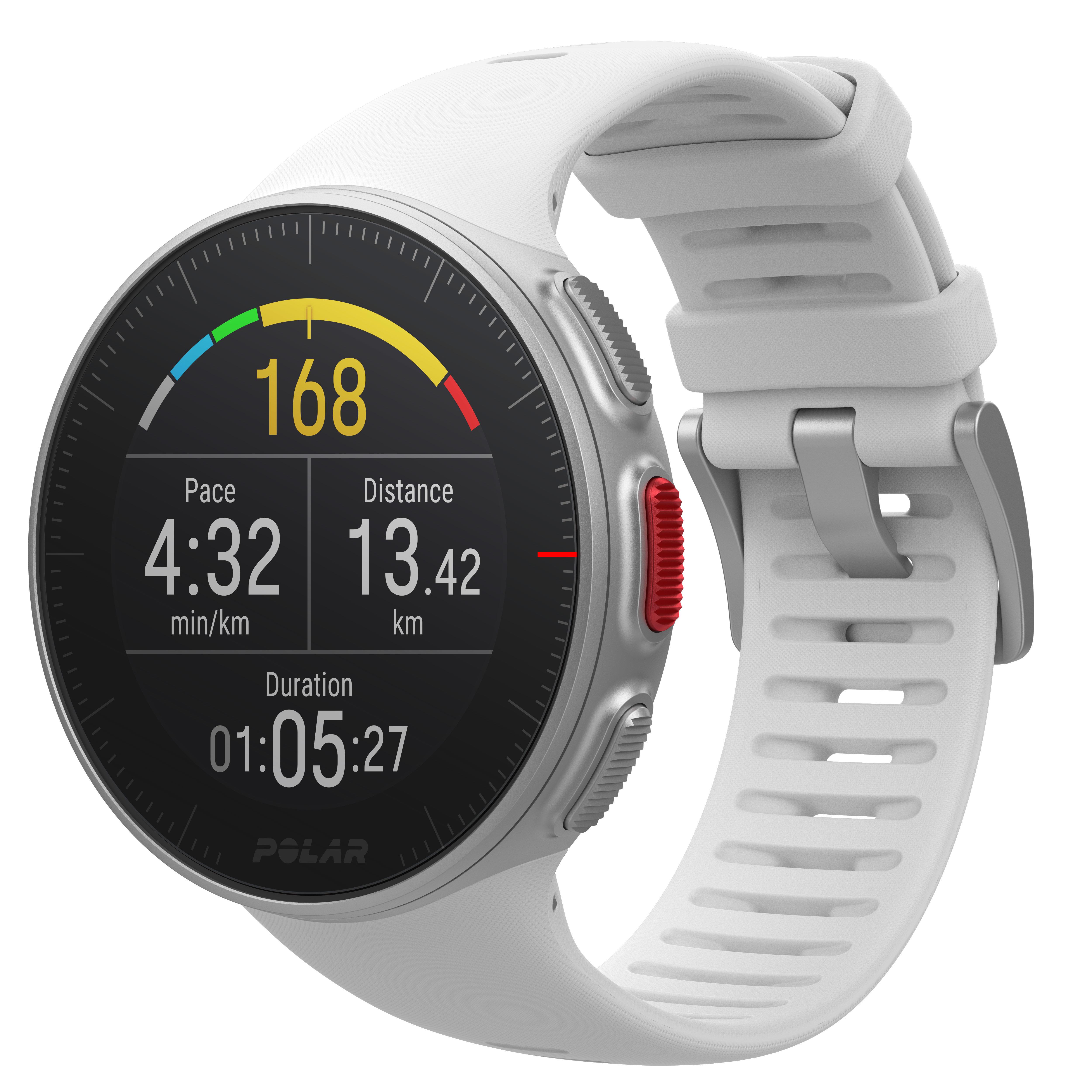 GPS-Multisportuhr VantageV weiß