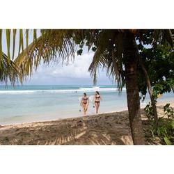 Bikini-Hose Nao Palmi hoher Taillenbund mit Revers Damen