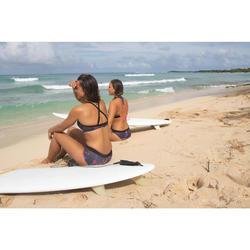 Bas de maillot de bain shorty de surf femme AVEC CORDON DE SERRAGE VAIANA PALMI
