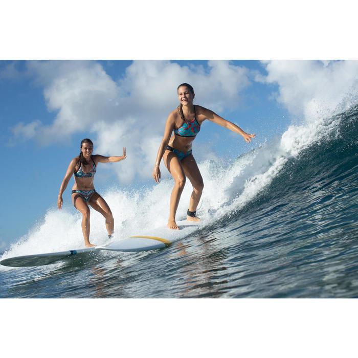 Bas de maillot de bain de surf femme plissée côté NIKI NCOLO