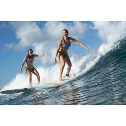 Bikini-Hose Niki Ncolo seitlich gerafft Surfen Damen