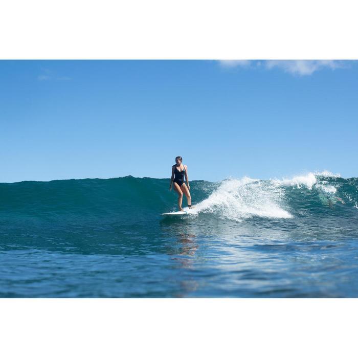 Badeanzug Bea im Rücken doppelt verstellbar Damen schwarz