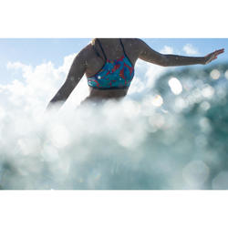 Surfing crop top swimsuit top ANDREA WALIS