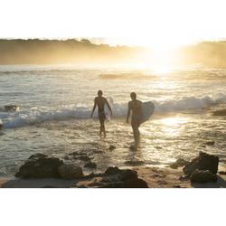 Bikini-Hose Niki Walis seitlich gerafft Surfen Damen